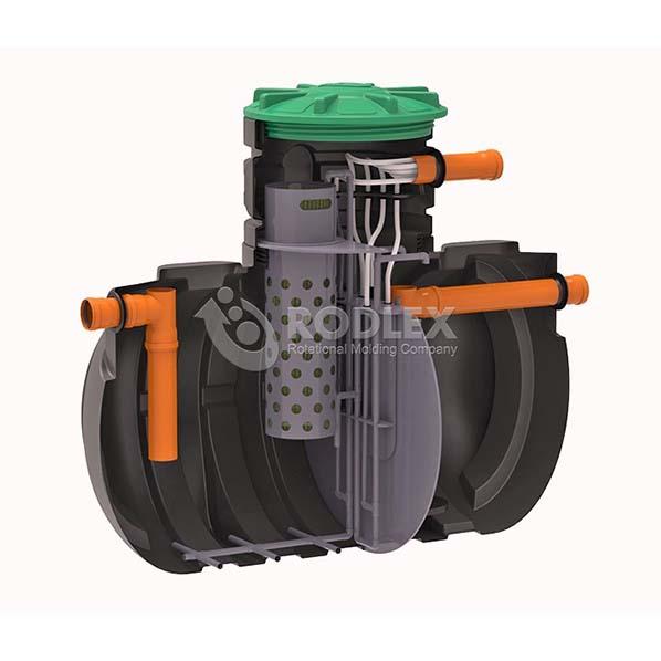 Канализация без откачки - Cтанция очистки сточных вод BioBox Aero3